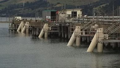 Port of Otago - Oil Wharf
